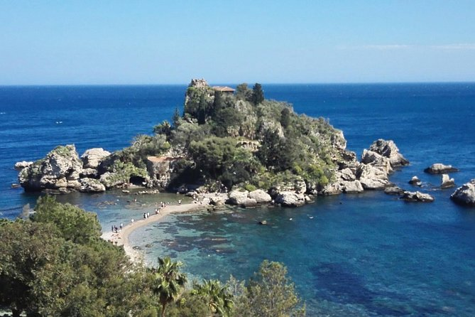 This tour gives you the opportunity to visit Taormina (the ancjent greek colony founded in the 5th century b.C.) with its Greek Theater, Corso Umberto (the pedestrian path) and its exclusive shops and delicious cake shops. You will enjoy the spectacular landscapes and the famous reserve called Isola Bella, a marine nature riserve, that's an Unesco Heritage patrimony. The tour also includes the visit of the medieval, picturesque village of Castelmola and a quick panoramic tour of the town the tour begins.