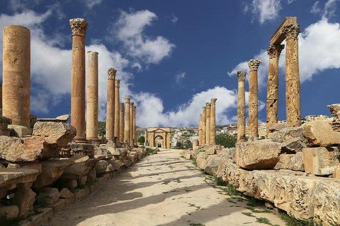 Full Day Tour : Jerash, Ajloun, Umm Qais, Aman, JORDANIA