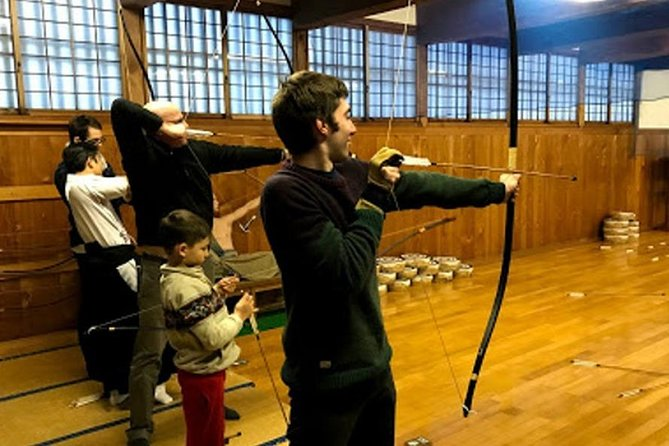 Train to become a samurai at the former young samurai school.<br><br>Discover how and what samurai learned to become warriors.<br><br>Try Kyudo, the Japanese archery.<br><br>Experience Zen meditation, part of the samurai training.<br><br>Paint your own wooden sword, an unique souvenir.