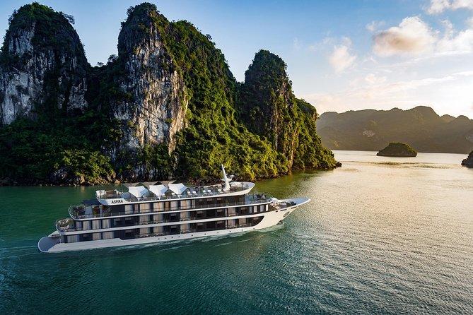 Aspira Cruises 5 star: Amazing 3 days exploring Halong & Cat Ba island, Halong Bay, VIETNAM