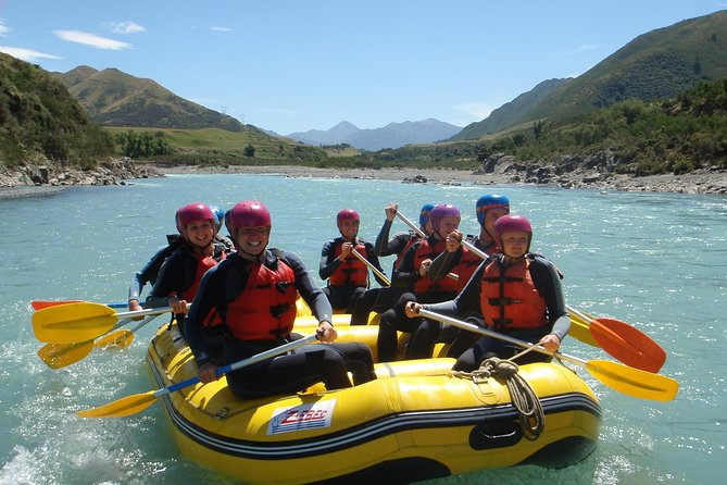 Enjoy this rafting experience for some fun on a grade 2 river. You will get to see the spectacular views of the Hanmer Basin, surrounded by mountains. See the pink and white marble and the fault line at Marble point and then be exhilarated by the Jetboat trip back to base getting inches close to rocks and cliff faces.
