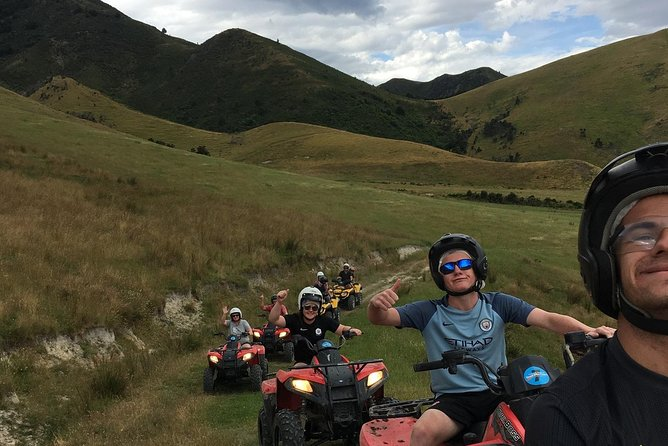 Amuri Adrenaline Canyon Quad Biking Adventure, Hanmer Springs, NUEVA ZELANDIA