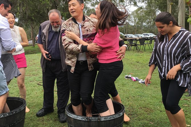 Hunter Valley Grape Stomping, Hunter Valley, AUSTRALIA