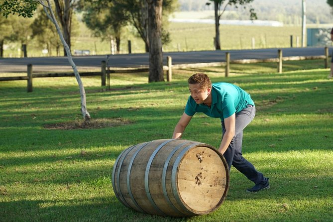 Hunter Valley Wine Barrel Rolling, Hunter Valley, AUSTRALIA