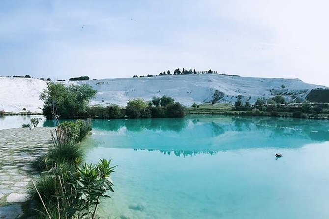 Enjoy an amazing ballooning experience with spectacular views of Pamukkale. . You will take off at sunrise, where you will get to witness the beautiful and unusual landscape as the sun rises over the travertines and Hierapolis. After your tour, discover the travertines with bare foot