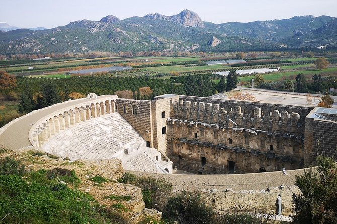 Visit all the places you heard about in your history lessons. <br>Be marvelling at the beautiful Kursunlu waterfalls<br>enjoy the sights of The Aspendos Theatre where has the best acoustics<br>dont forget your camera while in Side- best known classical sites in Turkey.<br>Relive the secret rendezvous of Anthony and Cleopatra