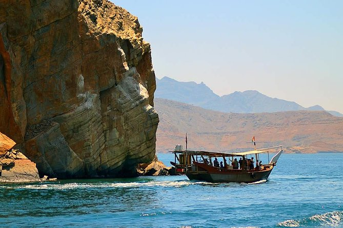 Going on a Dhow Cruise is a fantastic way to see the spectacular Fjords and the surrounding scenery. Our Dhow Cruise takes you to the Khor Sham fjord where the natural community of dolphins are welcoming you to the silence of sea and we do have an anchoring for snorkel and swimming near to the historical Telegraph Island. Swim and snorkel among the colorful sea life and under water life in Telegraph is one of the best ways to make yourself happy in the present is to recall happy times from the past. The experience of witnessing the parade of big marine life finning along the edge of a reef wall tends not limited during your Half Day Khasab Cruise with us.<br><br>The guests will be offered safety jackets and snorkeling kit as a part of the tour and indeed you will have refreshments on board