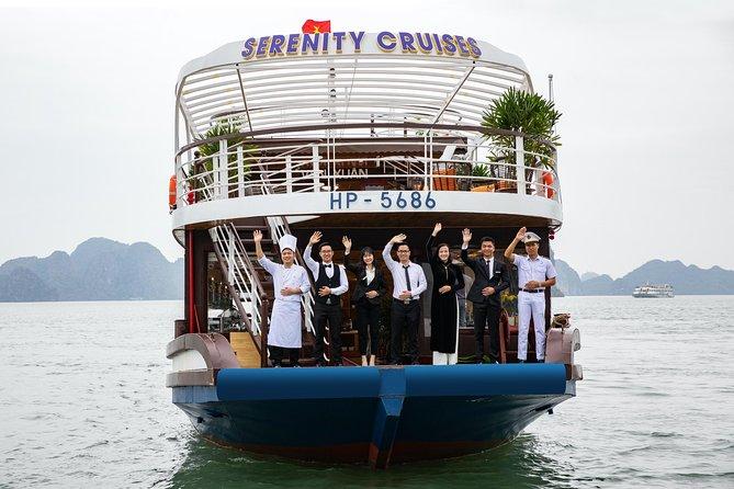 Halong - Bahía de Lan Ha con crucero de 4 estrellas Serenity 1 día en ruta única, Halong Bay, VIETNAM