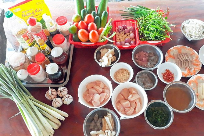 Chef Vu Cooking Class Plus Market Trip in Saigon Center (Pick up by Cyclo), Ho Chi Minh, VIETNAM