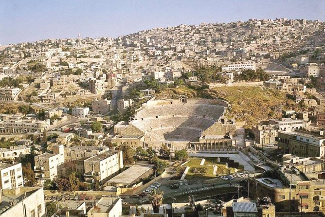 Jerash & Amman City Tour Day Trip from Dead Sea or Airport or Madaba, ,