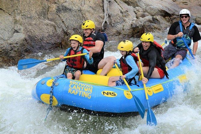 Browns Canyon Rafting Full Day, Buena Vista, CO, ESTADOS UNIDOS