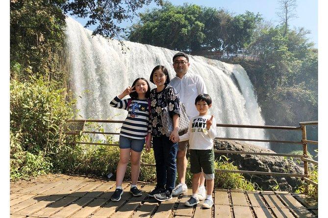 Visit 03 waterfalls in Dalat, My Son, VIETNAM