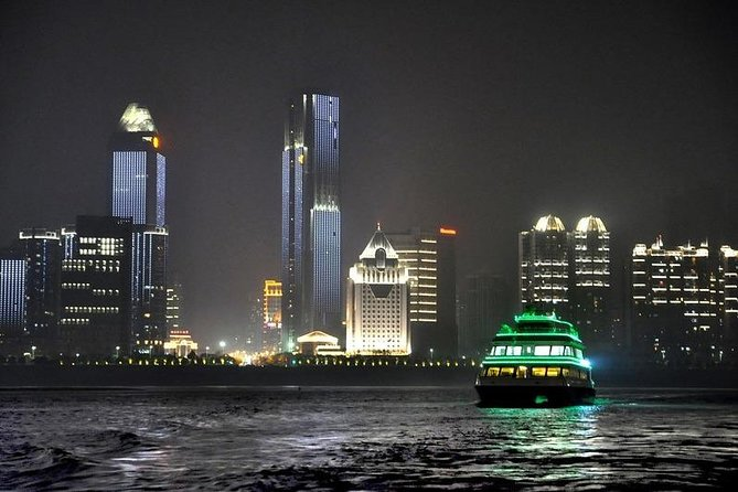 Nanchang Night River Cruise Tour With Shengjin Tower Food Street Tasting Experience, Nanchang, CHINA