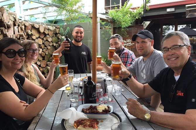 The ultimate craft beer experience over 6 hours, visiting 4 unique locations. The tour commences with a beer and food paired lunch and includes tastings at the other locations. Also included is a behind the scenes brewery tour.