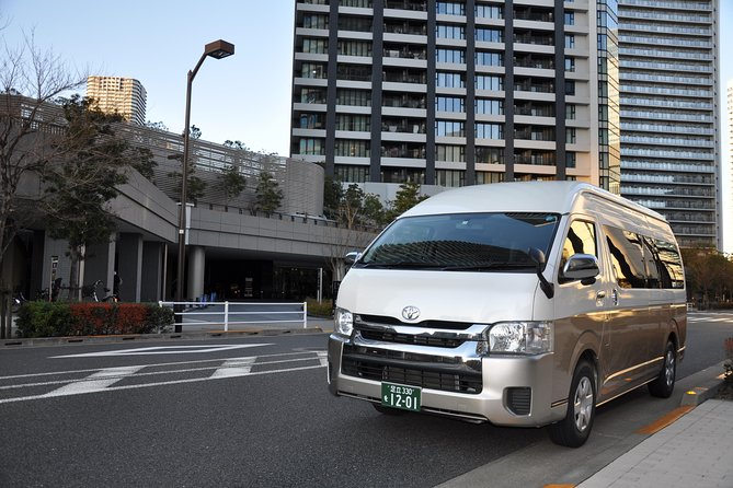 Yokohama INT Passenger Terminal transfer Toyota Hiace Extended version 9 seats, Tóquio, JAPÃO