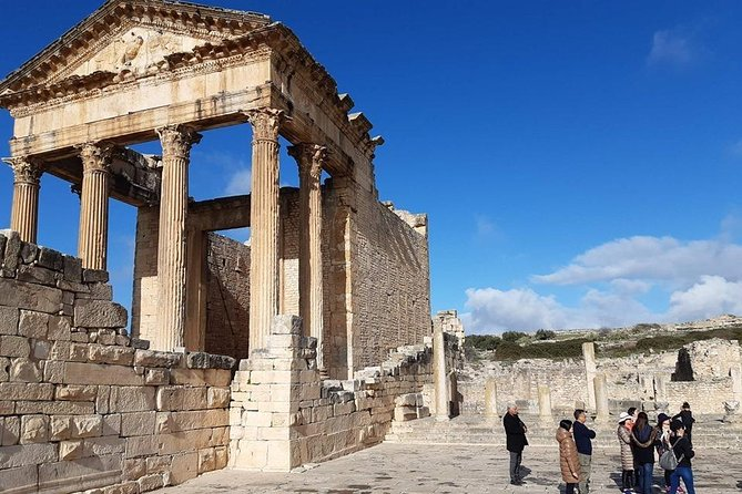 Always beautiful, authentic, and welcoming, the cities of Testour and Dougga promise its visitors to spend unique and unpublished moments. Considered the best-preserved Roman site in Tunisia and designated a UNESCO World Heritage Dougga features several stunning ruins that you'll admire! <br>Passionate about history, lover of strong moments, or seeking relaxation and nature, you will surely find your happiness!