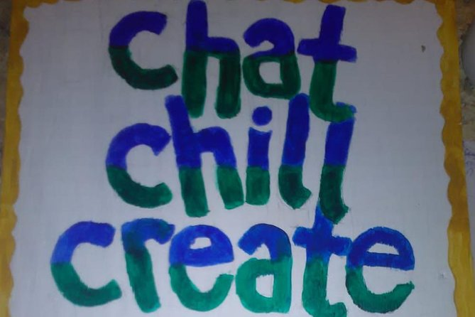 Chat Chill Create is a cozy studio with a beautiful view of the creek where it leads to the sea.<br>In addition to activities there are locally sourced and made items on sale, made by the artist herself and other artists throughout The Bahamas.