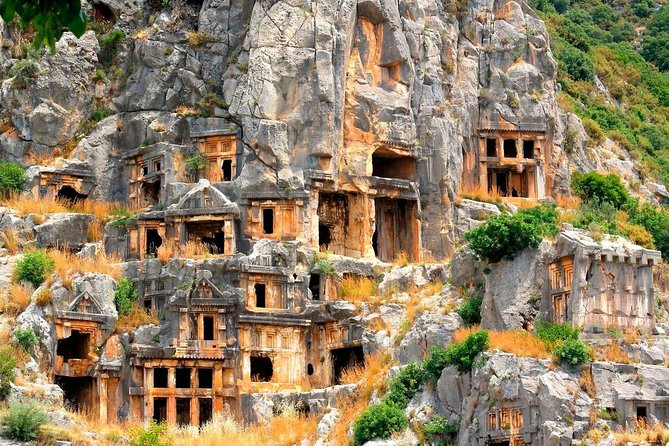 Demre-Myra-Kekova tour will open to you the pages of Turkish history while visiting Lycian ancient city in Myra, the church of St. Nicholas in Demre and sunken city in Kekova! Starting with the fascinating boat trip in Kekova sunken city, destroyed by an earthquake during the 2d century, You'll visit an ancient Greek amphitheater and the rock-cut tombs of the Lycian necropolis in Myra!<br><br>A Fantastic day at the scenic coastal roads of western Antalya<br>Visit the Myra Lycian tombs & theatre<br>Visit the famous St Nicholas church in Demre<br>Unforgettable blue cruise to the sunken city of Kekova