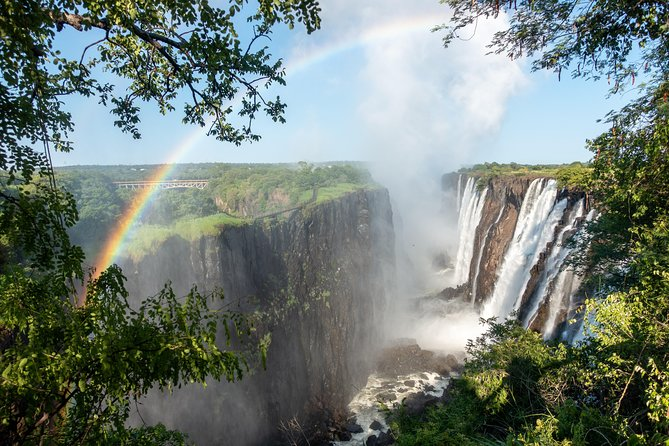 Many travellers view the Falls from either the Zimbabwean or Zambian side. However this is a complete view of the falls as you are going to view them from both side in the company of a professional guide.You will learn the facts of this landmark as you will be on a guided tour.