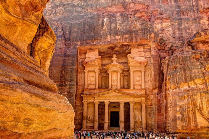 Our 3 days tour to Petra and Wadi Rum from Eilat allows exotic Middle Eastern landscapes an in-depth visit of the two most iconic wonders in Jordan.<br><br>After pick up from your accommodation in Eilat, you will cross the border into Jordan, and make your way to Petra along the desert highway. Petra is also known as the rose-red city, a name it gets from the wonderful color of the rock from which many of the city's structures were carved. The Nabataeans buried their dead in intricate tombs that were cut out of the mountainsides and the city also had temples, a theater, and following the Roman annexation and later the Byzantine influence, a colonnaded street, and churches. In addition to the magnificent remains of the city, human settlement and land use for over 10,000 years can be traced in Petra, where great natural, cultural, archaeological and geological features merge.