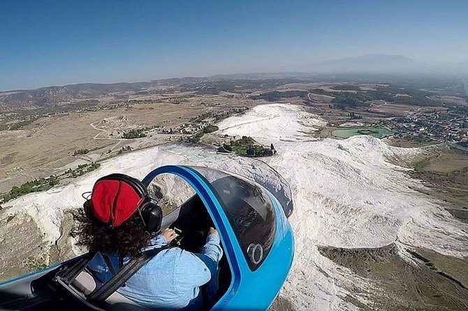 Get the chance to experience a truly unique and memorable activity with the Pamukkale Gyrocopter. Experience a unique flight over Pamukkale's most notable spots and observe outstanding and breath-taking views over the area. This activity is ideal for those who wish to add some extra excitement to their holidays and for those who wish to participate in an alternative and fun activity.