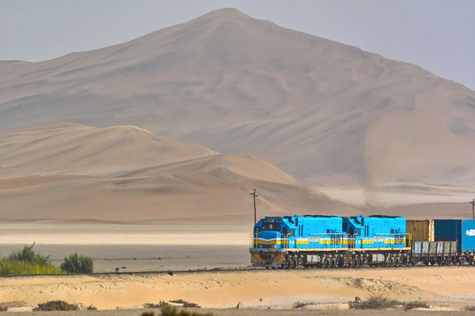 This tour is a perfect blend of remarkable history, architecture, culture and natural beauty as you are takenthrough the streets of Swakopmund and then onto Dune 7 near Walvis Bay to climb the highest dune in the area. This is an ideal shore excursion for those travellers with limited time in Port because this tour explores the main interests in both Walvis Bay and Swakopmund.