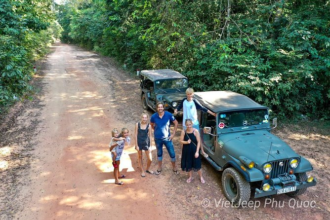 VietJeep - jeep tour to explore the Northern Phu Quoc, Phu Quoc, VIETNAM