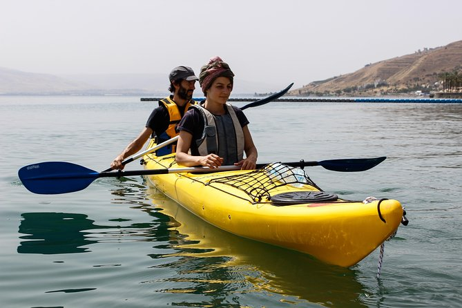 Leaving from Nazareth, our Kayaking in the Sea of Galilee tour provides for an amazing day of activity, history, culture and natural beauty.