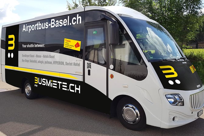 We take you quickly, safely, comfortably and cheaply to the Basel Exhibition and Basel exhibition hotels and back to the EuroAirport.