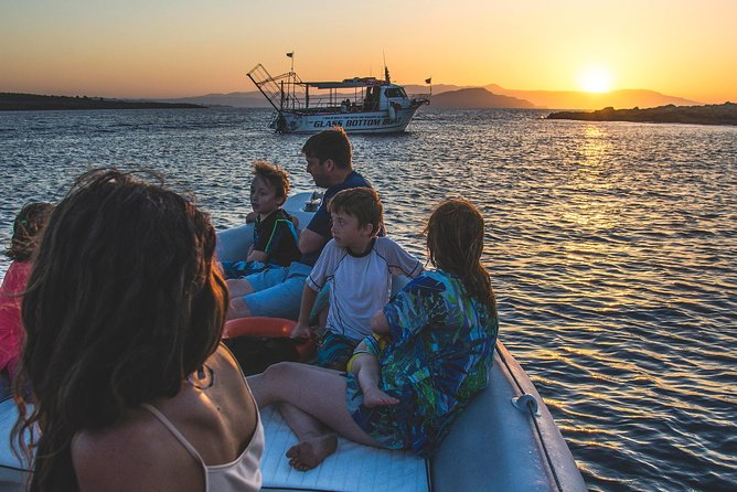 Private Sunset boat trip in Chania, Crete (price is per group), ,