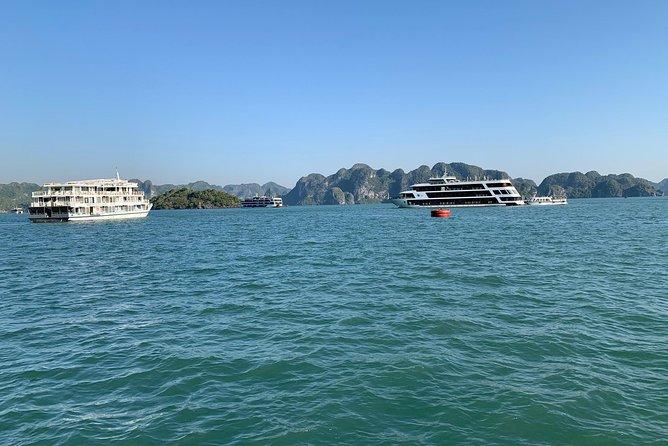 Aclass Jade Sails Cruise 1 Day Trip Halong to Lan Ha Bay, Halong Bay, VIETNAM