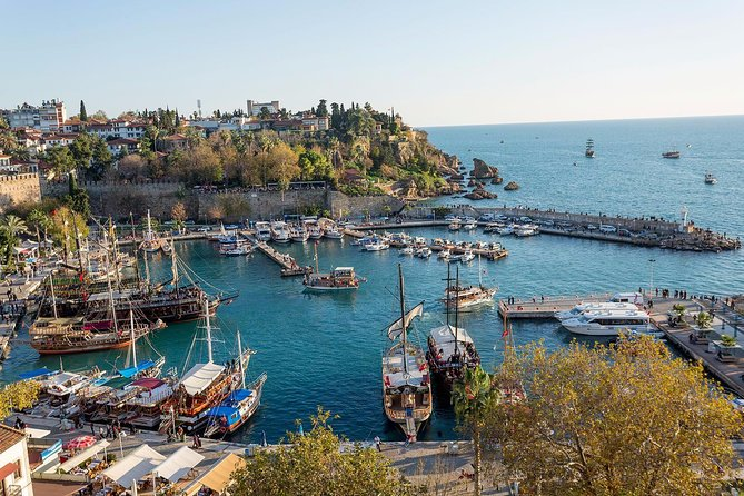 Explore Antalya's the famous places in one day by guided tour. Visit to Düden Waterfall, Antalya Old City and Tünektepe Cable Car. Lunch and entrance fees are inclusive.