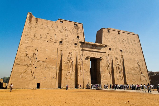 Explore the most intact temple in Egypt, the temple of Horus at Edfu.<br>Discover the amazing temple of Sobek and Horus at Kom Ombo.<br>The tour includes: Hotel pick up and, drop off, entrance fees, and licensed tour guide.