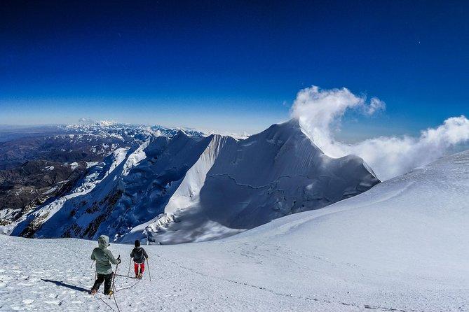 Ascenso al Nevado Illimani (El Guardián de La Paz), La Paz, BOLIVIA