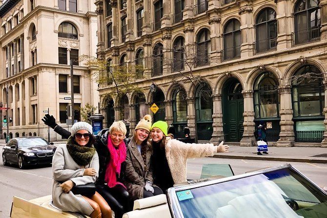 1 Hour Tour of Old-Montreal in Vintage Convertible Cadillac, Montreal, CANADA