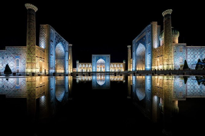 "Rome of the East! Pearl of Asia! Amazing Samarkand!<br>With us in one night you will be able to get acquainted with the magnificent city.<br>And again you will be sure that not without reason Alexander the great said that ""More beautiful than I expected"""