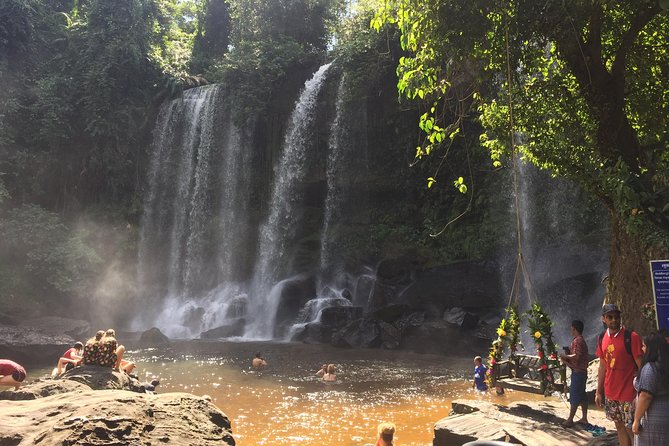 Phnom Kulen Waterfall 1000 Lingas's River Full-day private tour, Angkor Wat, CAMBOYA