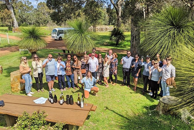 Margaret River's Iconic Wine and Beer Adventure with Wine for Dudes!<br><br>Wine for Dudes (...& dudettes!) have been cruising the vines of the Margaret River wine region since 2003. We create fun, relaxed and informative Margaret River Wine Tours, that push away the posh and pomp often associated with wine, to make it approachable and enjoyable for everyone! You'll learn heaps, indulge in some of the most delicious boutique wines and beers, and have heaps of fun along the way!<br><br>Your Wine for Dudes Wine and Beer Adventure includes: <br><br>- Complimentary wine tastings at three boutique wineries.<br>- An awesome lunch at a local micro-brewery, including a middy of beer or cider!<br>- Complimentary chocolate factory tasting!<br>- Finish things off at another local micro-brewery! Drinks at own cost.<br>- Complimentary pick up/drop off service at your accommodation or address in the Dunsborough/Busselton areas (including Yallingup, Dunsborough, Abbey, Quindalup, and south of the Busselton Jetty).