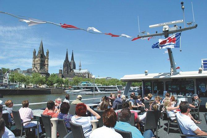 Recorrido en autobús con paradas libres por Colonia y crucero turístico por el río Rin, Colonia, ALEMANIA