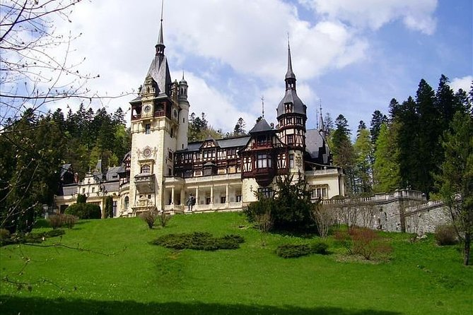 Cultural Transylvania Day Trip Discover Romania's beautiful countryside and history on a full-day trip to the legendary Transylvania. <br><br>See Gothic sites of interest, such as the castle that inspired Dracula, and explore Transylvania's diverse cultural influences. <br>*Tour beautiful Sinaia and the former royal residence of Peles Castle <br>*Discover the castle that inspired Bram Stoker's Dracula at Bran Castle <br>*Drive through the magnificent landscape of the Carpathian Mountains <br><br>Route: Bucharest>>>Peles Castle>>>Bran Castle(Dracula)>>>Rasnov Citadel >>>Bucharest