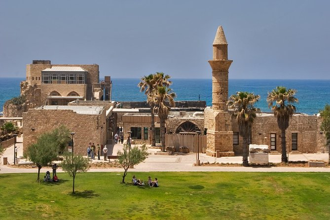 Explore the excavated buildings, bathhouses, ancient port, arena and amphitheater with private tour Guide. Your personal guide will take you first on a tour of the ruins around Caesarea. From Caesarea you will continue up the coast to Acre which boasts centuries old excavations of the massive pillars supporting the arched roof over the magnificent Knights hall. Continue north to Haifa where you will make a quick stop to enjoy the panoramic views of Haifa bay and the Bahai gardens before leaving for the final stop on your private tour at Rosh Hanikra where you will descend by cable car to visit the beautiful grottoes.<br><br>.<br>• Drive up the Mediterranean coast stopping at Caesarea and Acre<br>• Visit the Baha'i Gardens in Haifa and sea caves at Rosh HaNikra<br>• Meet your private tour guide at your hotel or private address.<br>• Travel in comfort with an air-conditioned and well equipped vehicle