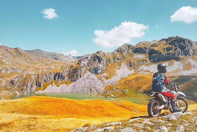 We have several tours which can be modified based on the rider experience. Such as Kapetanvo lake tour, which can be on any of our vehicles - motorcycle, ATV or Jeep.<br><br>Tour length: day ride, from 50-70km<br><br>Tour Availability: May through November up to 5-6 people per group. Minimum of 2 riders required<br><br>Highlight: Kapetanovo lake at 1.670 meter above sea level