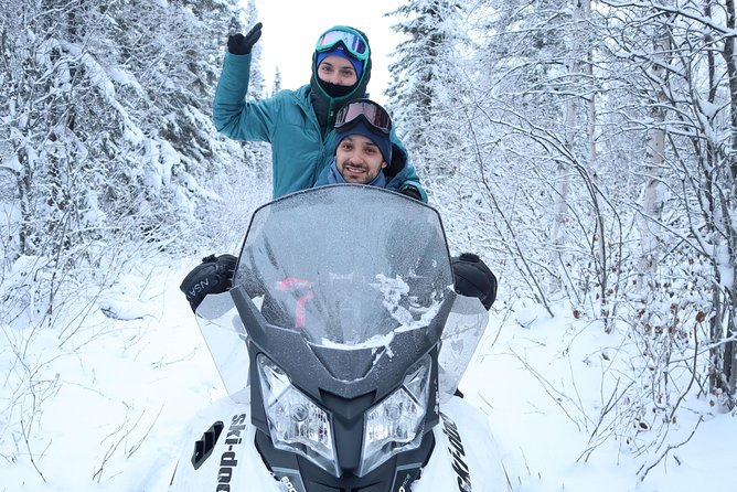 Snowmobile Wilderness Tour, Yellowknife, CANADA