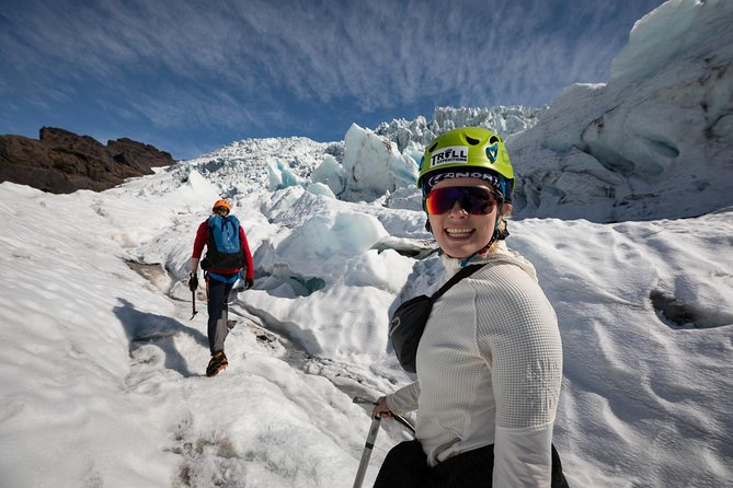 Come join a three-hour hike up an outlet of Vatnajökull glacier, Europe's largest glacier, located in Skaftafell National Park. Experience the breathtaking natural scenery that has inspired dozens of filmmakers. You and your group of, at most, 12 people, will get the opportunity to explore the wilderness of the ice formations and crevasses under the guidance of a certified guide.
