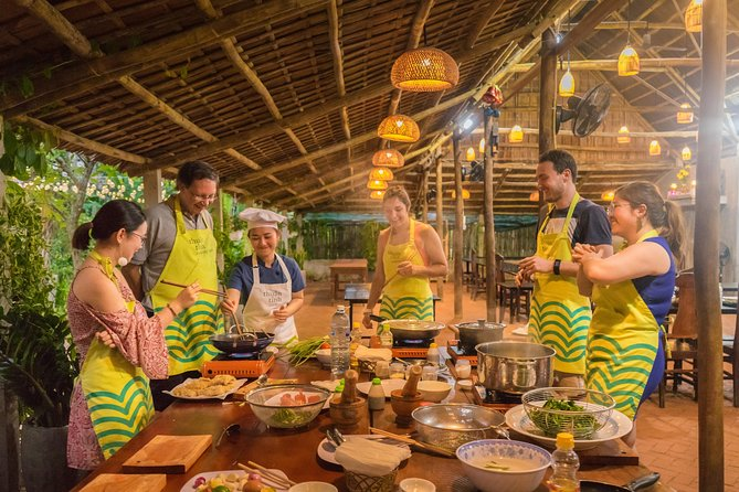 Thuan Tinh Island - Romantic, Family Dinner in water coconut forest, Hoi An, VIETNAM