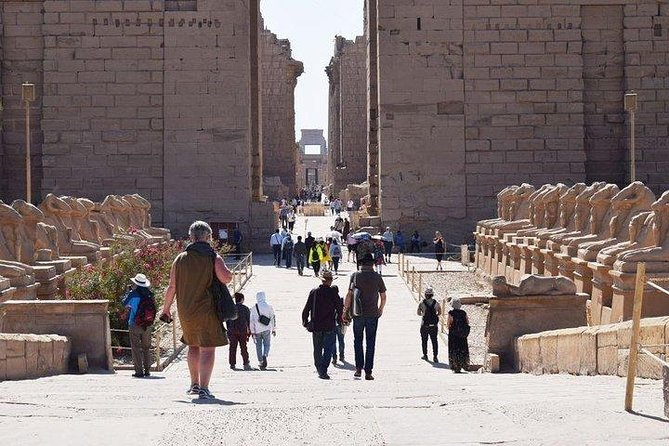 2-day tour of Cairo and Luxor from Hurghada, including flights and overnight accommodation<br>Visit Cairo and see the Sphinx, Giza Pyramids and Egyptian Museum with a private guide<br>Admire Tutankhamun's death mask and funerary treasures at the museum<br>Fly to Luxor and explore Karnak Temple, the Valley of the Kings and Temple of Hatsheput<br>Enjoy one night's stay in a 5-star Luxor hotel, with breakfast<br>Learn the history of each site from a knowledgeable private guide<br>Enjoy two lunches, round-trip transfers and transport by private minibus in each city