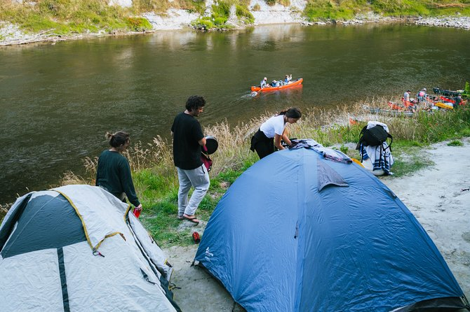 A two day paddle, starting at Cherry Grove, Taumarunui (known to the local Māori as Ngāhuinga) you'll paddle along the upper Whanganui River to Whakahoro. Overnight camping at the beautiful Ohinepane Camping Ground (Toilet facilities at site).