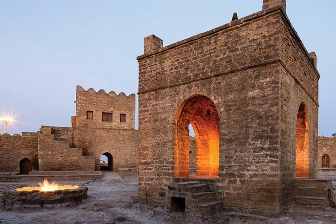 Discover all that Baku and its surroundings have to offer on this full-day tour. See the prehistoric petroglyphs at Gobustan National Park, learn about the mud volcanoes and their healing properties, visit the Zoroastrian fire temple of Ateshgah, explore the fire mountain of Yanardag, and admire the architecture of Baku's modern city center. This tour includes a tour guide and transportation to all of the sights from your hotel.