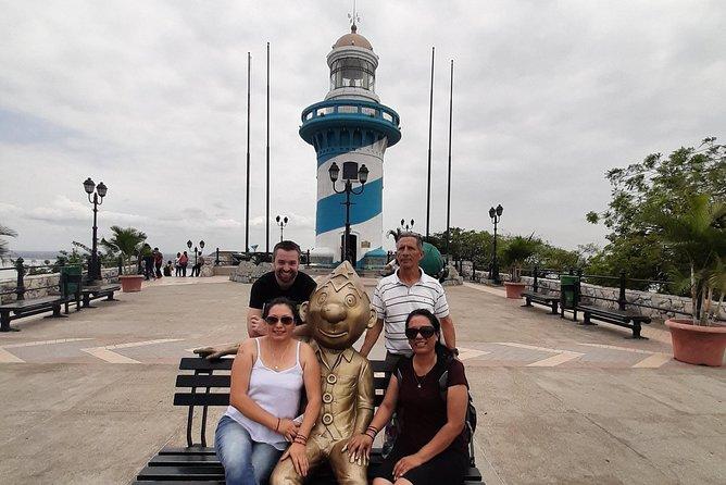 MÁS FOTOS, Private Guayaquil City Tour Including the Light House of Cerro Santa Ana