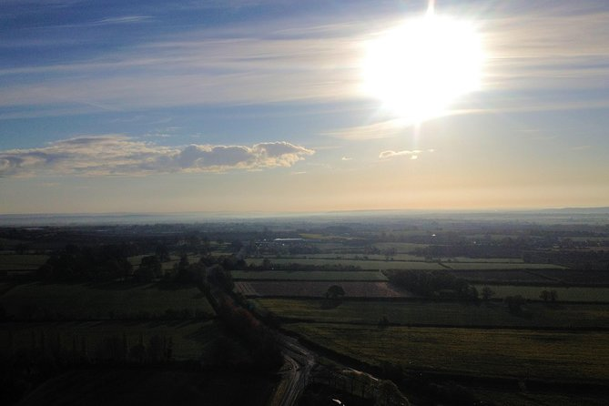 Enjoy an Exclusive Champagne Hot Air Balloon flight over the beautiful countryside of Somerset. Take in the stunning English scenery as you float effortlessly through the sky in one of our spacious, shared baskets. <br>You will meet our ground crew where you will be taken to the launch site. You will then meet your Pilot and be given a full safety briefing; you can get involved and help inflate the balloon! Your skilled and experienced Pilot will fly you over wonderful landscapes for up to one hour. When you land, you can help pack away the balloon and enjoy a glass of chilled Champagne or juice to toast your flight, you can also request a signed personalised flight certificate. You will then be taken back to the original meeting place in our vehicles. <br><br>Hot Air Balloon rides take place at dawn or dusk and the whole experience lasts around 3-4 hours. <br>Flights are weather dependent. Main flying season April-October.<br>Minimum of two people.<br>